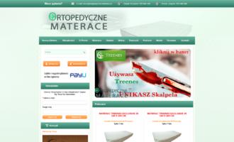 Ortopedyczne materace